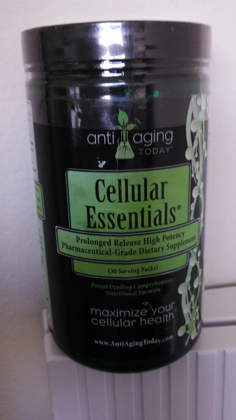Cellular Essentials 30 Serving Jar
