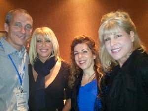 2010 12 09 18.59.01 2 300x225 Suzanne Somers meets OWC Executives at A4M Anti Aging Conference