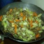 burdock stir fry 150x150 Burdock   Arctium lappa