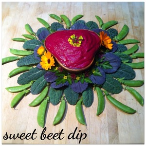sweet beet dip Yoga of Food Blog, Eating Good Feels Good, by Sorrel Weiss